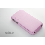 SGP Leather Case Argos Series [Pink] for iPhone 4, 4S (SGP06830S)